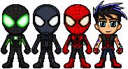 Spider-Men: Dimension Alpha Scrapped Idea by spid3y916