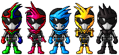 Project re:SD - Edakumi Sentai Animeger by spid3y916