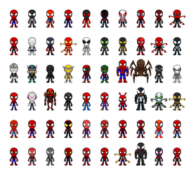 60 Spiders Revised