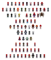 80 Spiders Revised