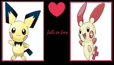 What If Pichu Falls in Love With Plusle