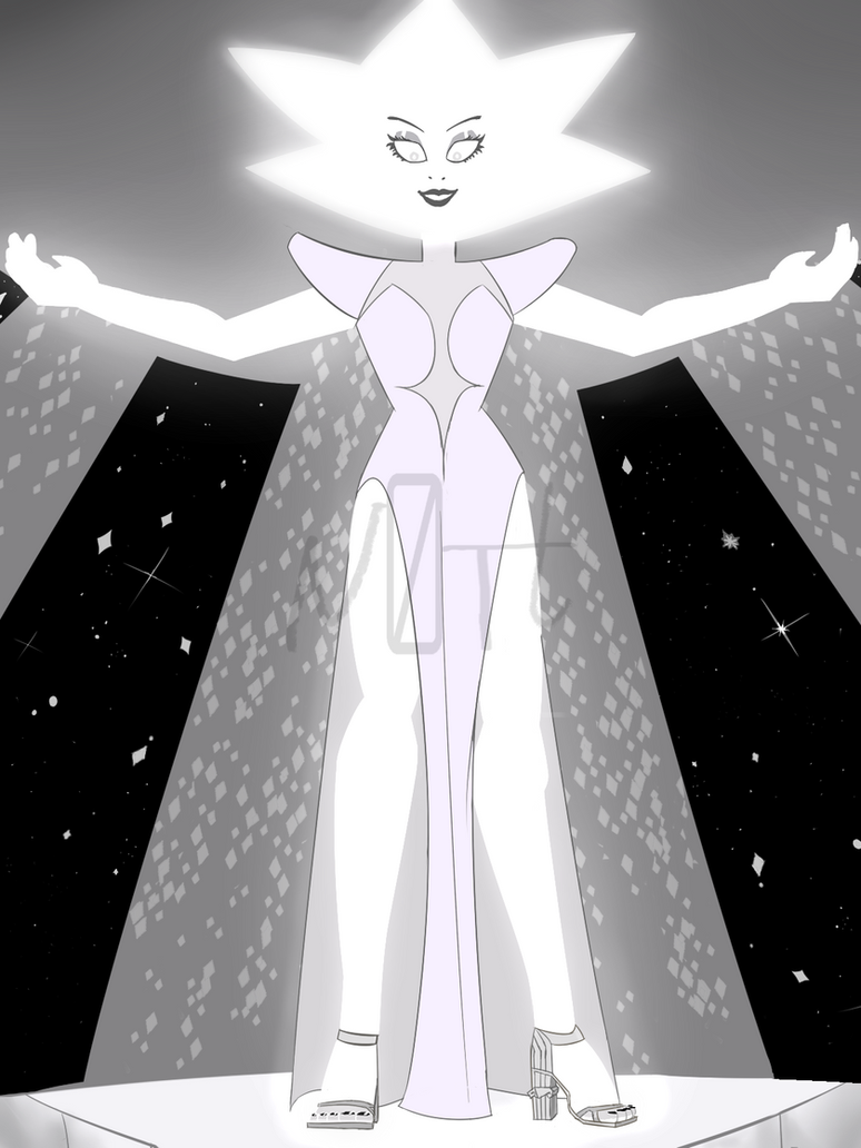 White Diamond- character from steven universe.