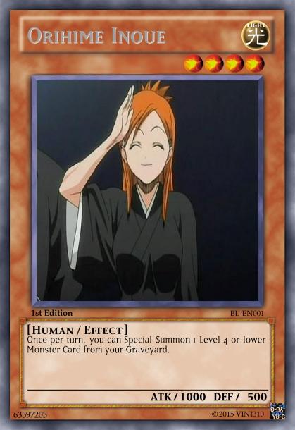 Orihime Inoue Card by Vini310