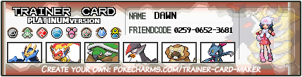 My team in Pokemon Platinum by Vini310