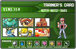 Only 6 Challenge Pokemon Gen 1 by Vini310