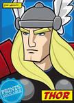 Thor - Digital Print