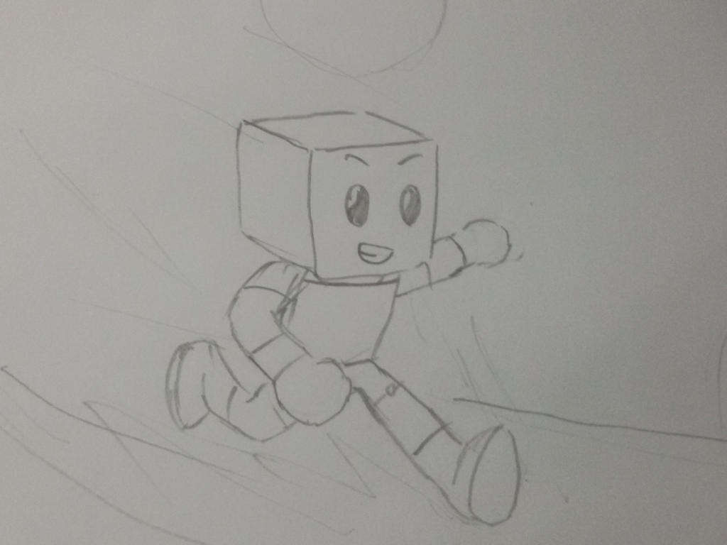 gamebot at high speed by Sketchman01