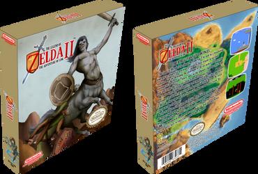 Zelda II The Adventure of Link by vladictivo
