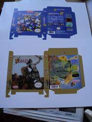 Freshly printed NES mini boxes by vladictivo