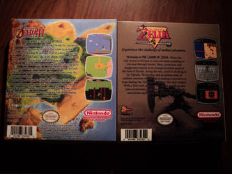 Zelda I and II for NES ready by vladictivo