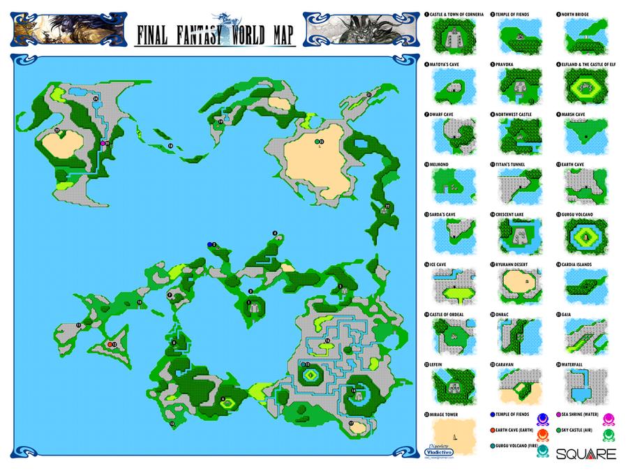 Ff 1 Map : Final Fantasy Custom Map V2 0 By Vladictivo Deviantart ...