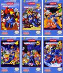 Mega Man NES Custom Labels