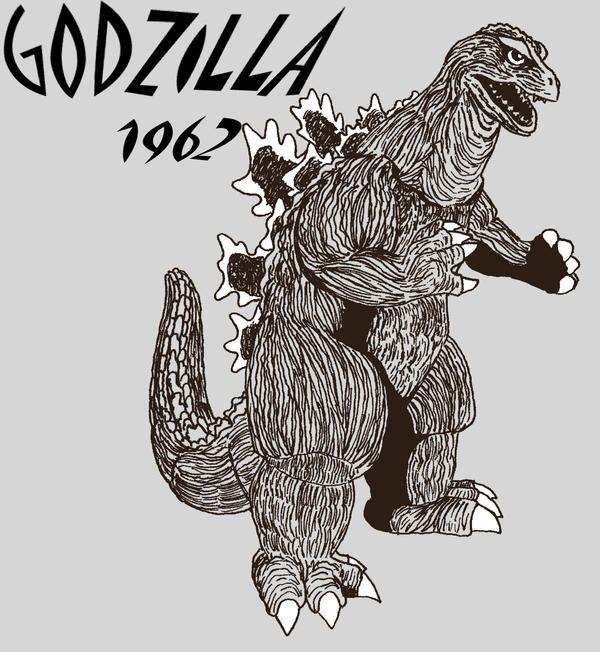 Godzilla 1962 by mikegodzillasapp
