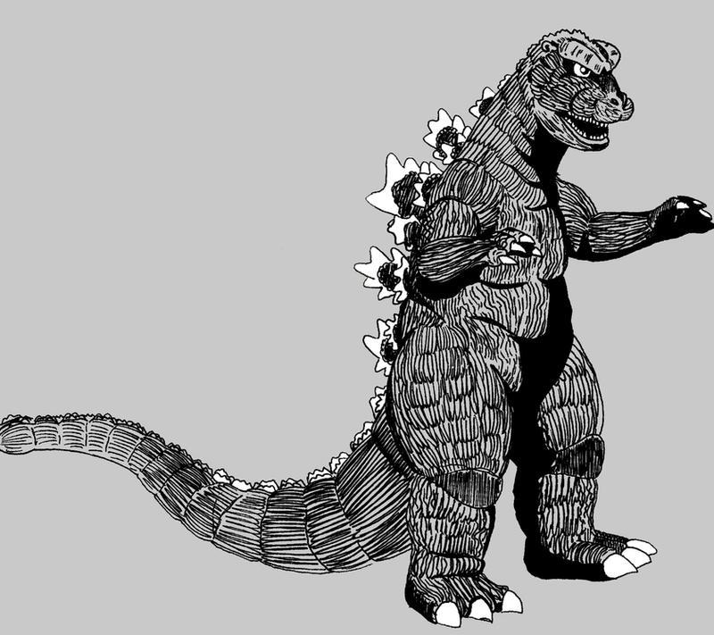 Godzilla 1965 by mikegodzillasapp on DeviantArt