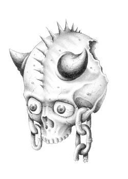 Randon skull i drew