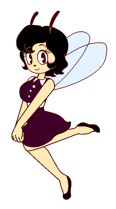 Sweet Little Fly Girl By Iridescentinkangel On Deviantart
