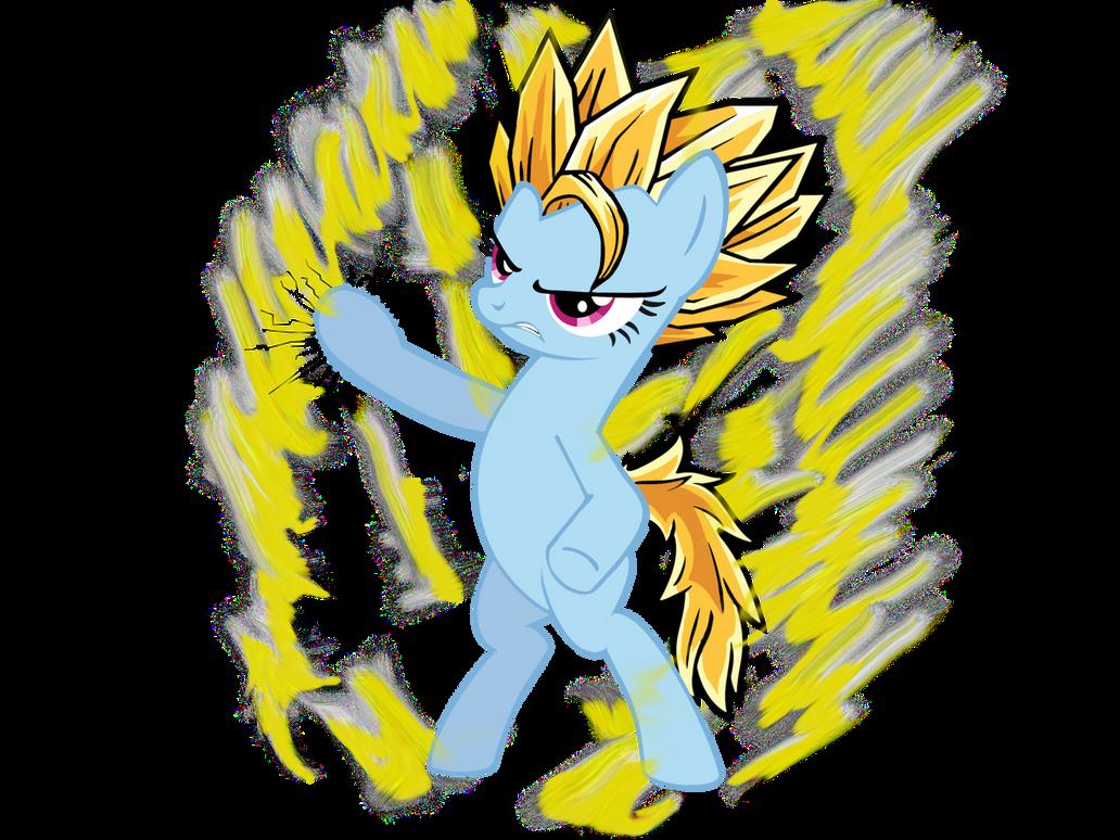 Super Saiyan Pony by Neriani