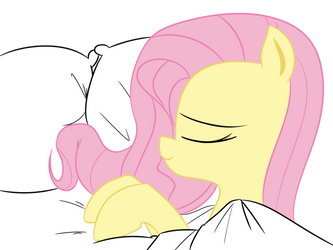 Fluttershy - Bed time by Neriani