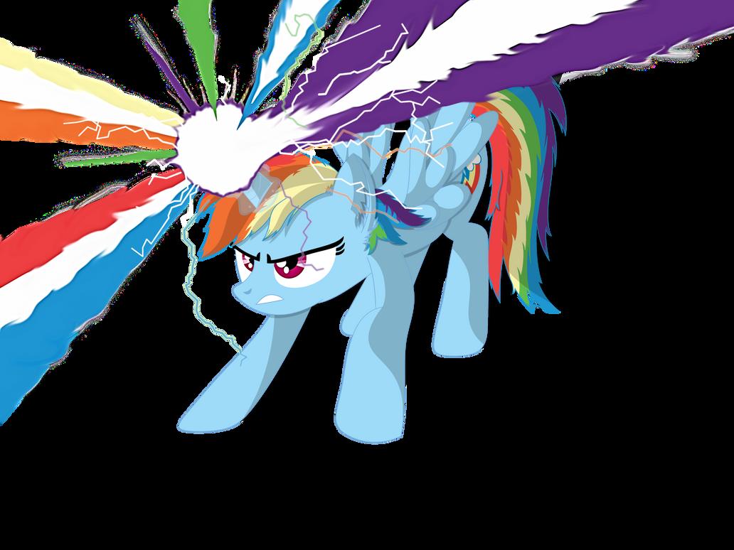 If Rainbow Dash was an Alicorn...(Redone)