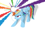 If Rainbow Dash was an Alicorn...(Redone)
