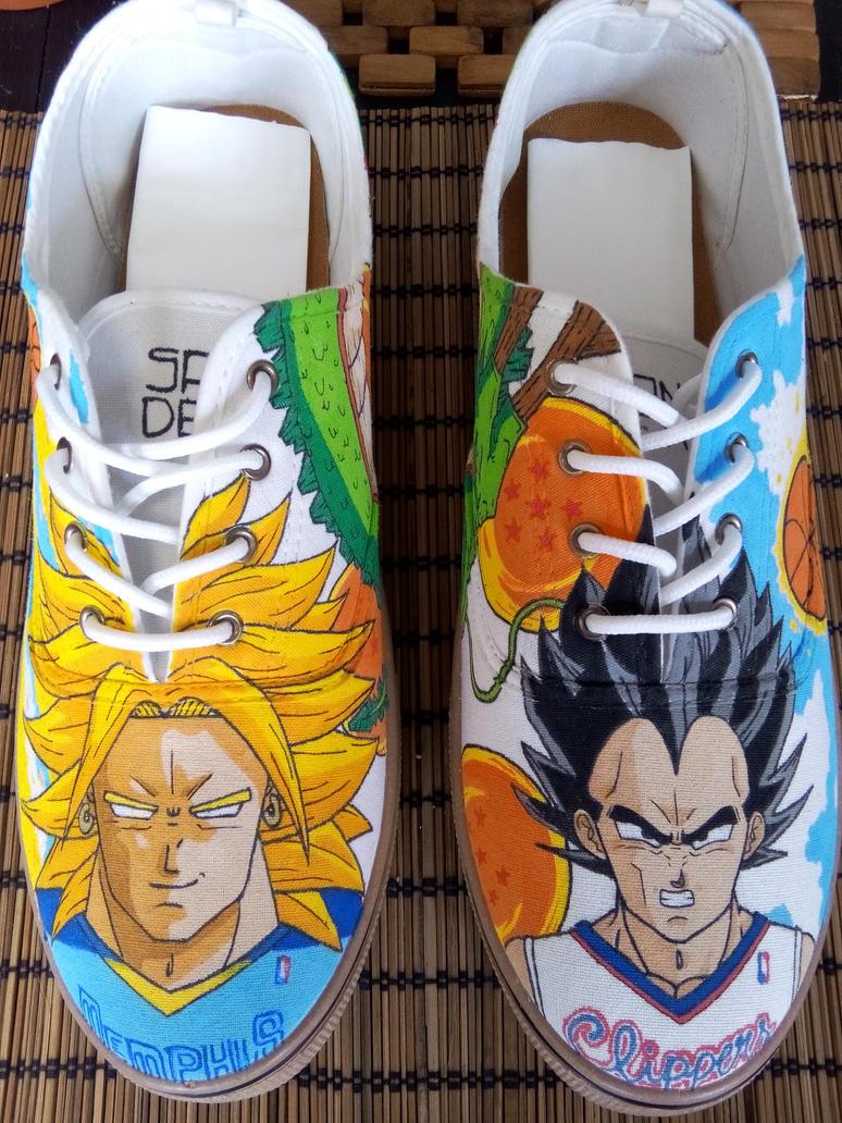 Custom Shoes Dragon Ball / NBA by JSander