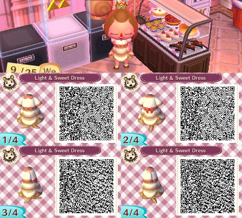 Animal Crossing: New Leaf - Light and Sweet Dress by coffeetalks