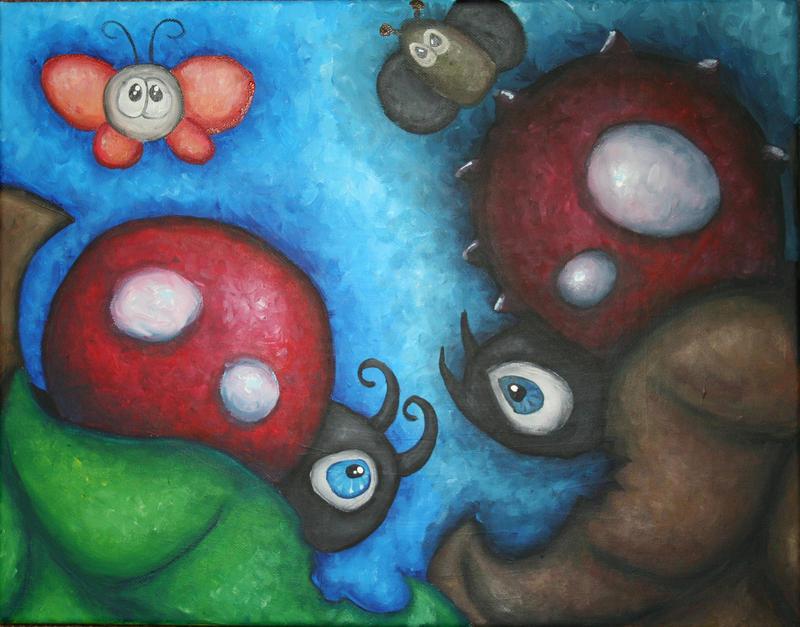 good bug vs bad bug by Yocheved