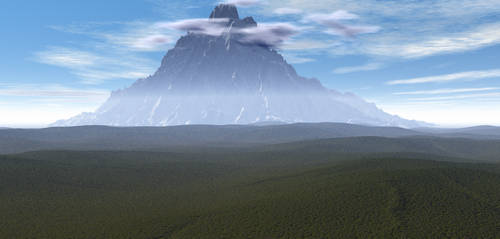 Highest Mountain by wingedmonkee