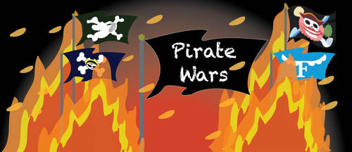 Pirate Wars Poster by gamewizard-2008