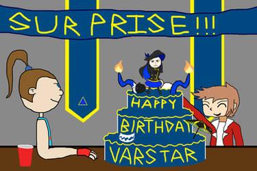 Happy Birthday, Varstar!