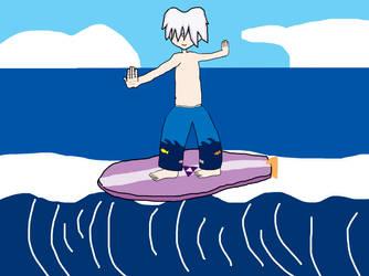 Aullik Kcydloz - The Flying Surfer