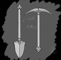 Death Vigil Sam's Tools