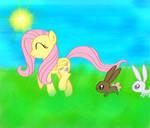 Fluttershy Bunny Hop