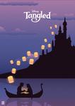 Tangled - Illustration Poster