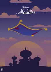 Aladdin - Illustration Poster