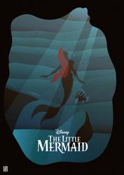 The Little Mermaid - Illustration Poster