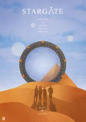 Stargate - Illustration Poster