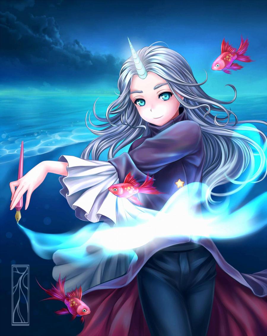 Drawing is magic! by Kotikomori