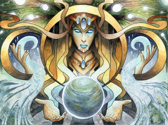 Gaia, Mother of all life by LarsVsraL