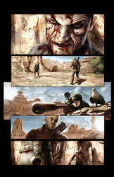 Comic Page Comission Rendered
