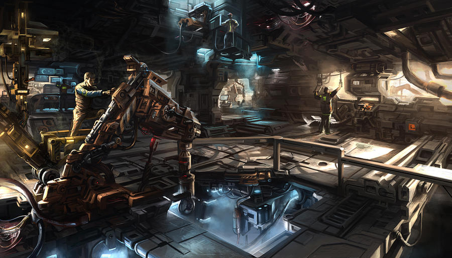 Interviewing ASHTAR (Cadence, ADAPA, Marek, Sling) The_engineering_bay_by_anasrist-d4lsz35