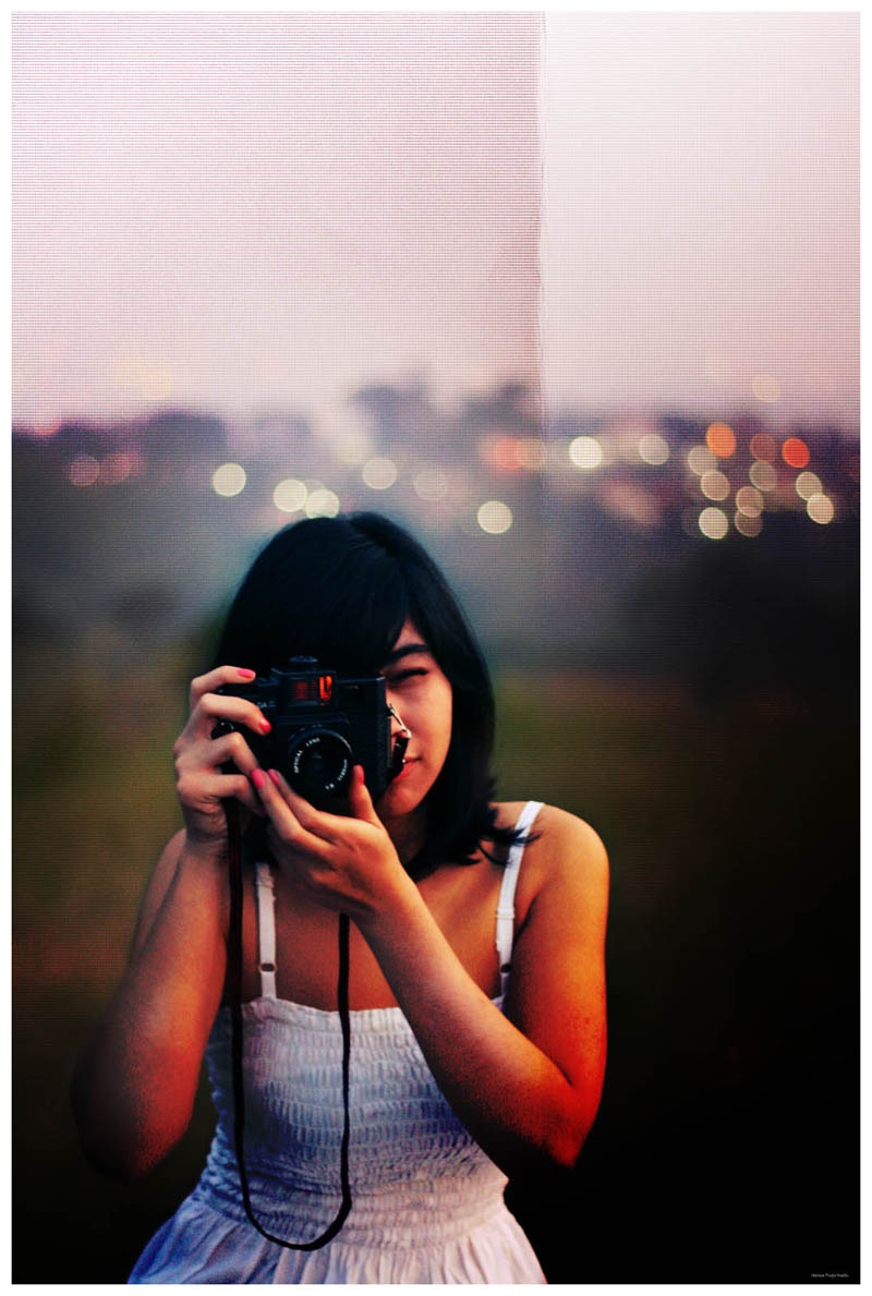 Anez With Lomo by adityapudjo
