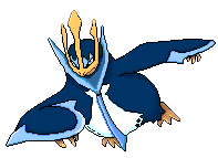 Pixel Over Empoleon by Upchuck2