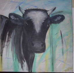 just a cow by magrietwierts
