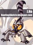 Mutant Zoo... Lemur+Tarantula