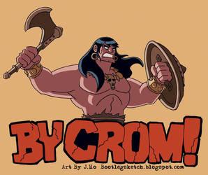Original Barbarian by jasonhohoho