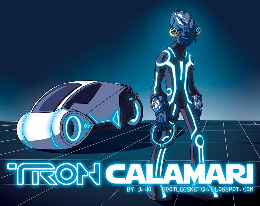 Tron Calamari by jasonhohoho