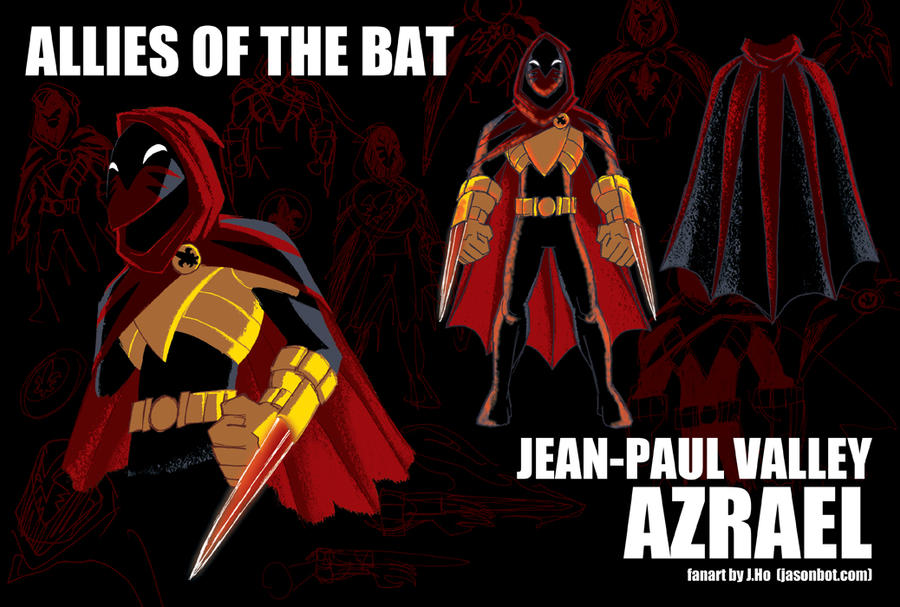 Allies of the Bat: Azrael by jasonhohoho
