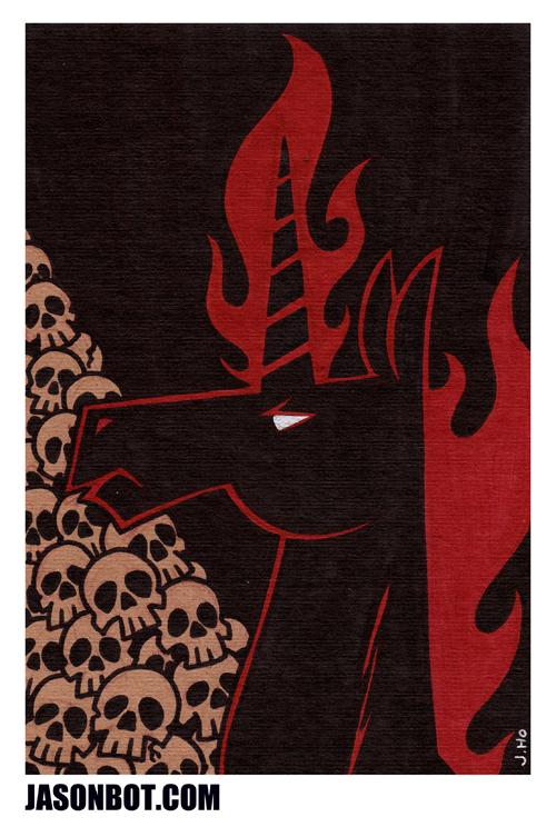 Another Unicorn! by jasonhohoho