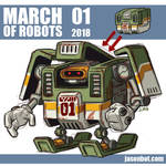 March Of Robots 2018 01